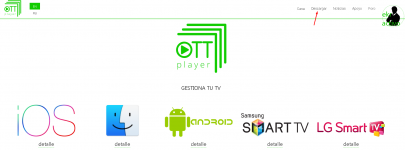Ott player Apk + Playlist español